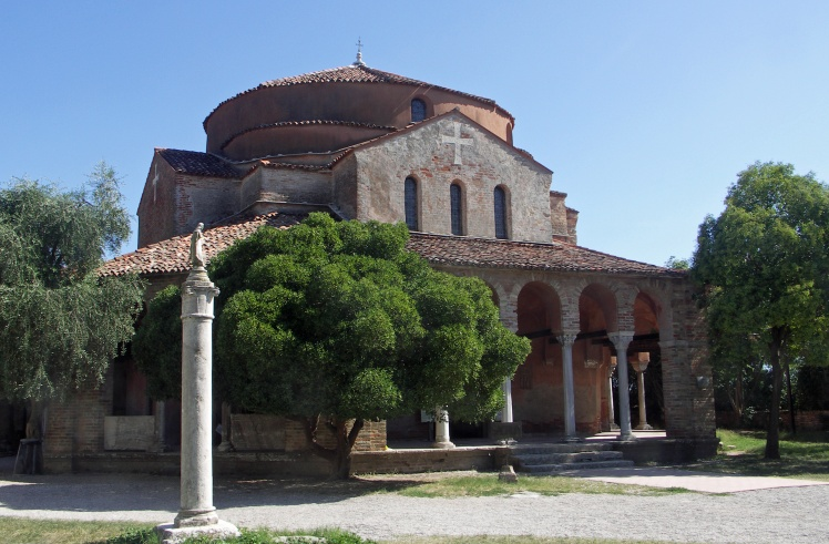 Santa Fosca cathedral on the island of Torcello the oldest building in the lagoon.