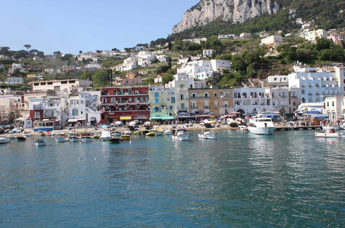 Mediterranean Cruise Excursion – Capri Day Trip with Lunch from Naples 2017